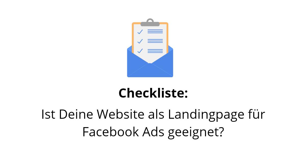 landingpage checkliste