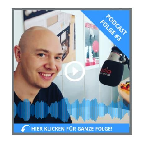 podcast bewerben