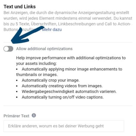 automatische-anzeigenoptimierung